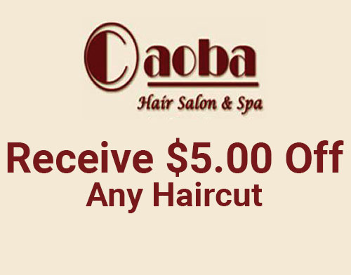 Receive $5.00 Off Any Haircut